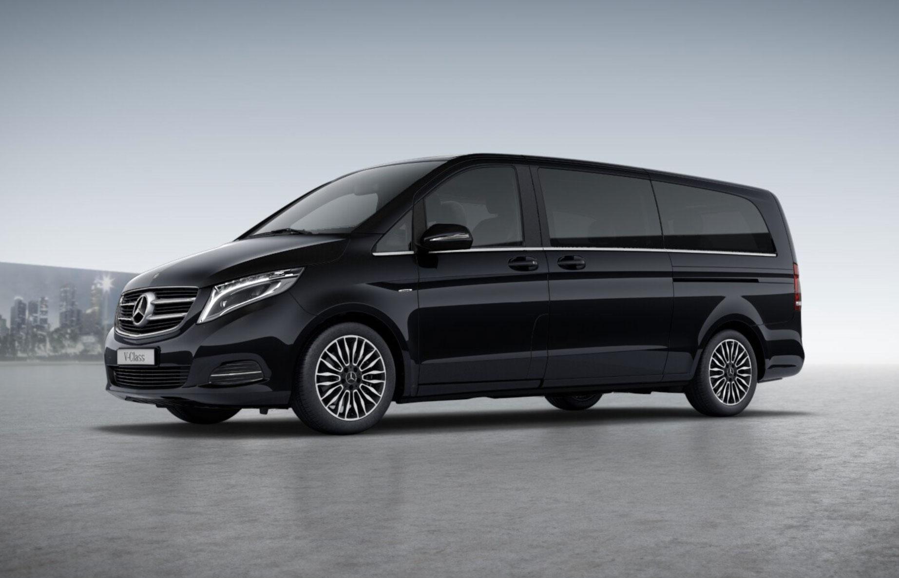 Luxury Chauffeur Car Service Milan - V Class