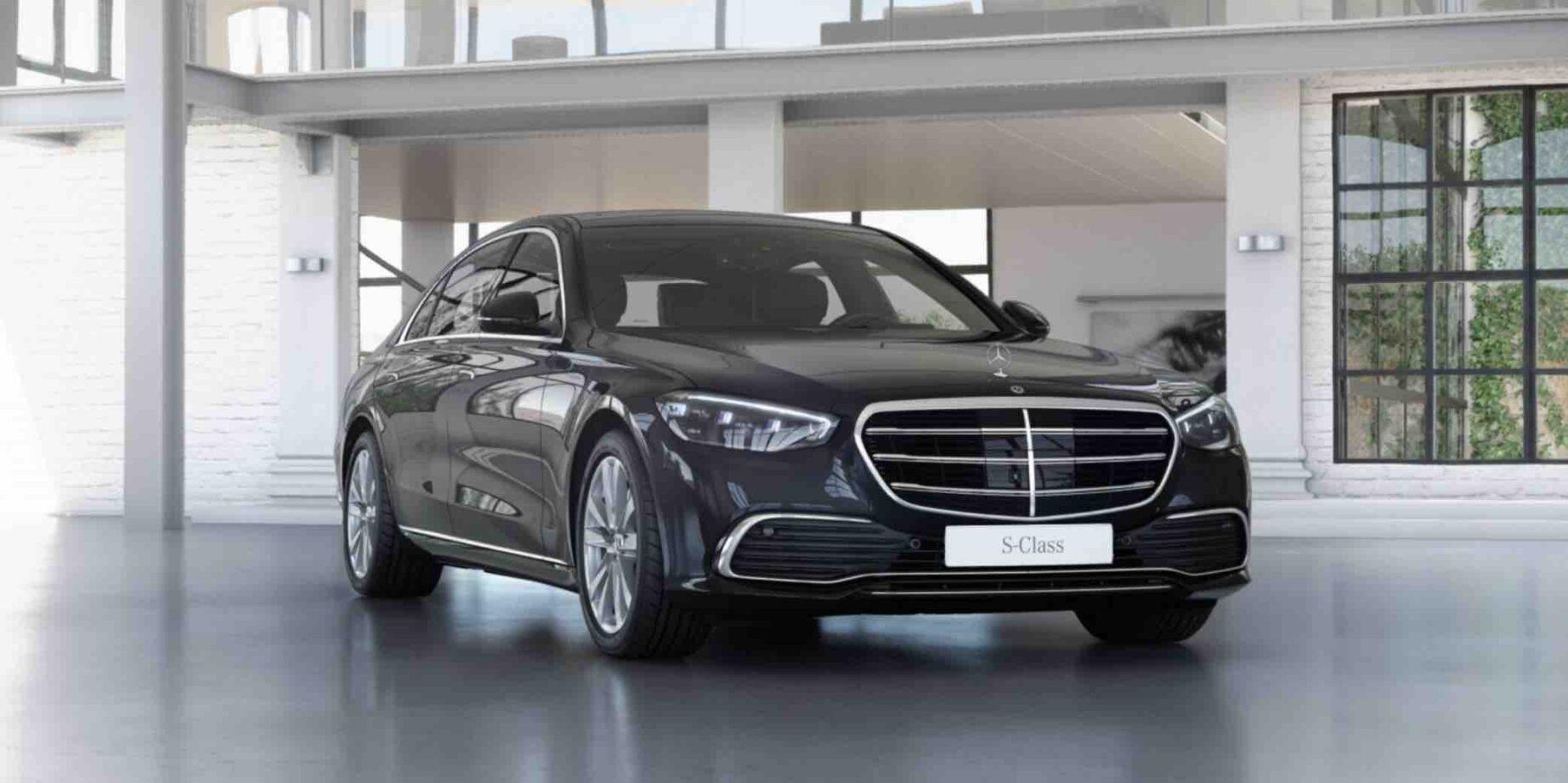 Executive Chauffeur Hire Milan – S Class
