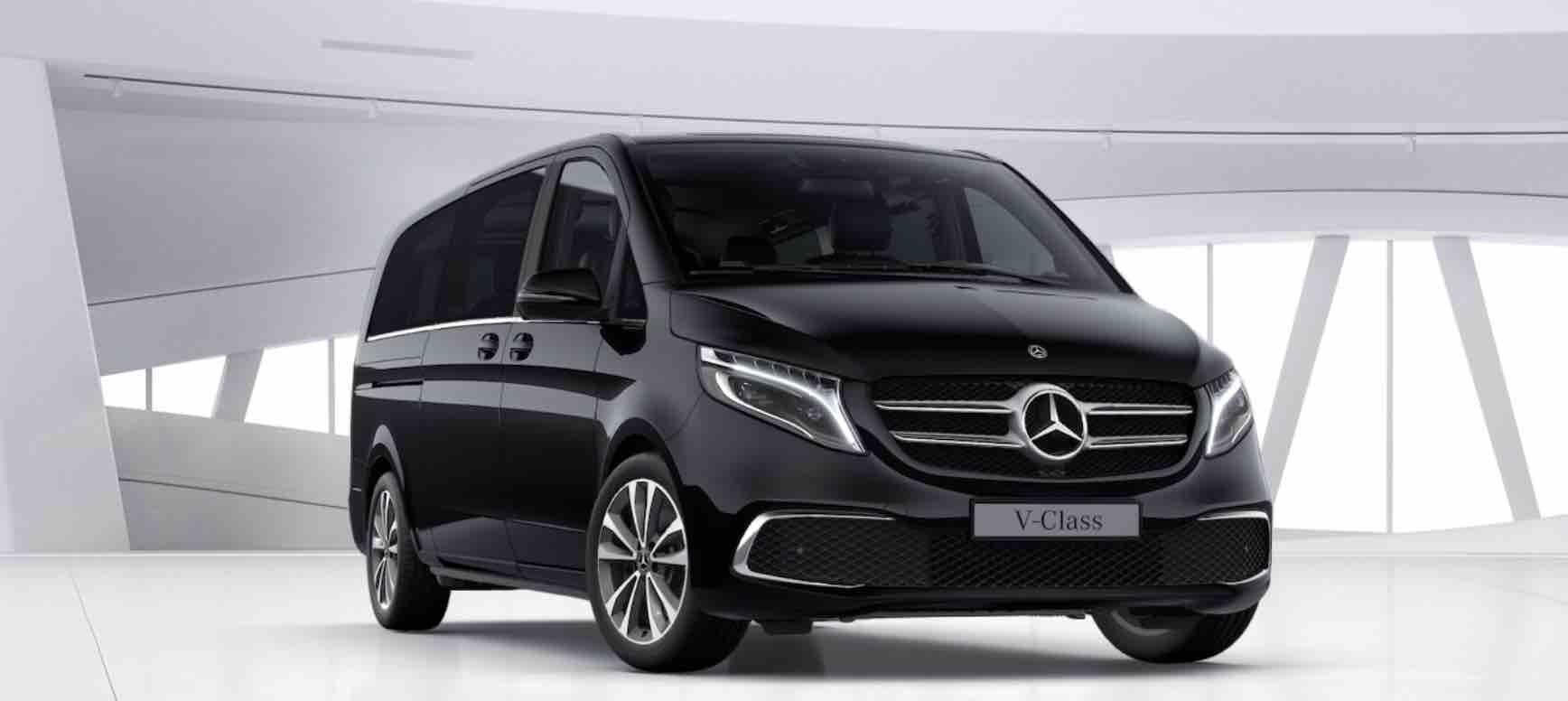 Luxury Chauffeur Car Service Milan – V Class Minivan