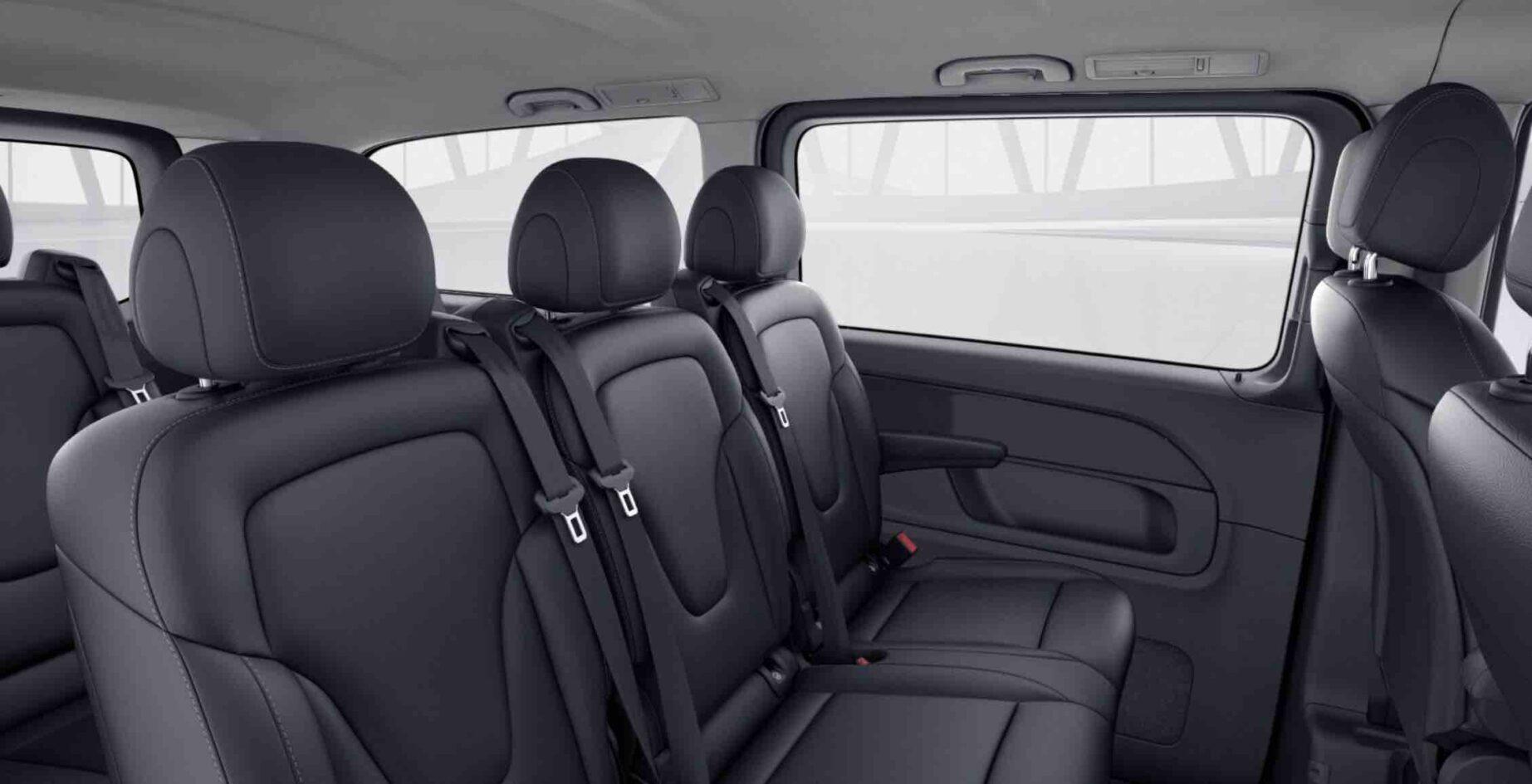 V Class Minivan лимузин сервис Mилан - Interior