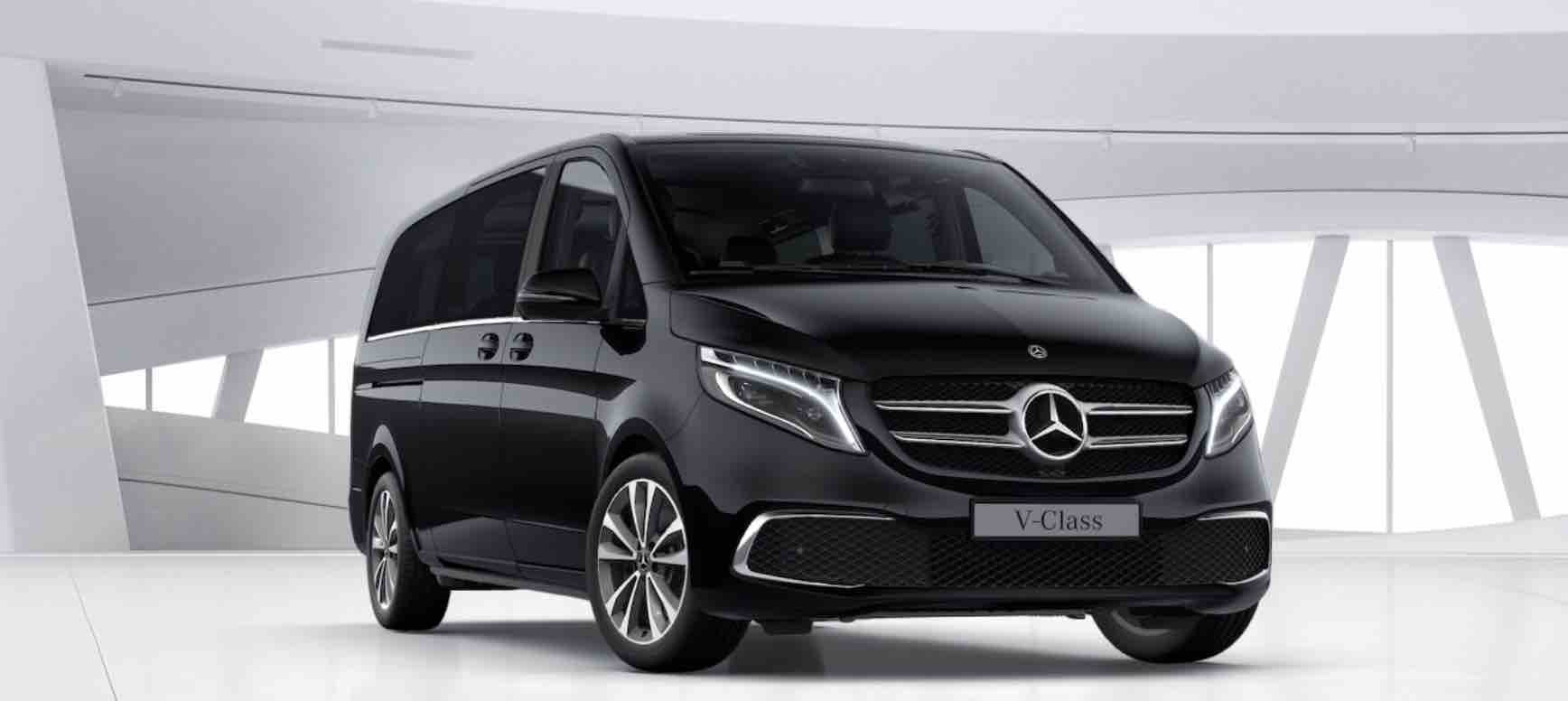 V Class Minivan лимузин сервис Mилан