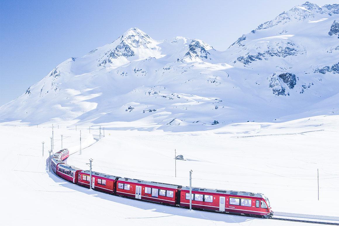 Bernina Express & Sankt Moritz - Day Trip from Milan